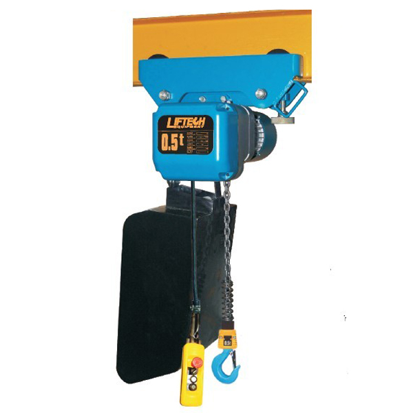 Liftech Electric Chain Hoists With Trolleys  China